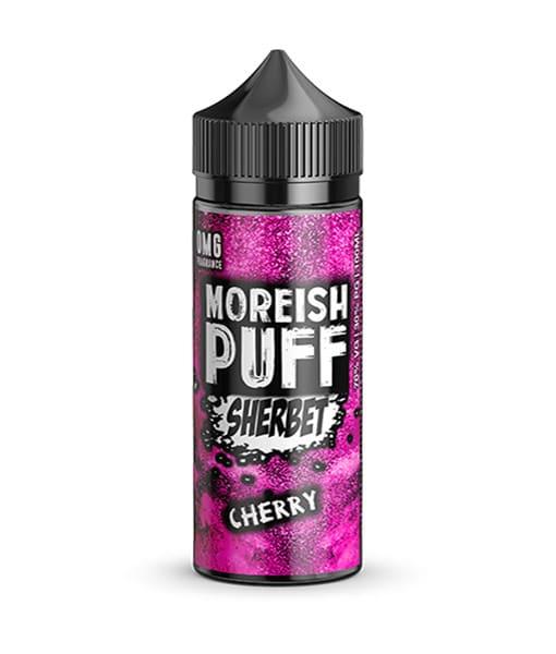 moreish puff cherry sherbet 100ml