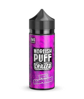 moreish puff pink raspberry chilled 100ml
