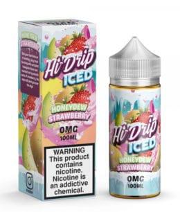 hi drip iced honeydew strawberry iced 100ml
