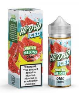 hi drip iced watermelons iced 100ml